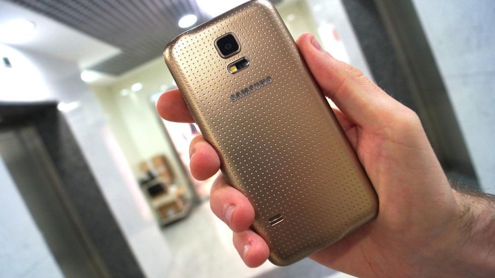 Samsung Galaxy S5 Mini cámara de 8 megapíxeles