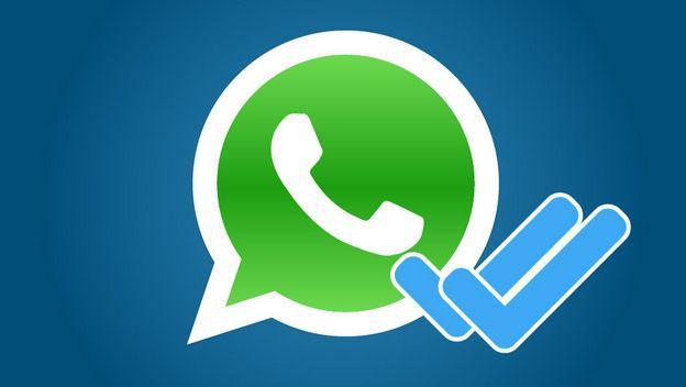 Doble check azul de WhatsApp