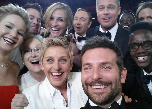 El 'selfie' más retuiteado de la historia