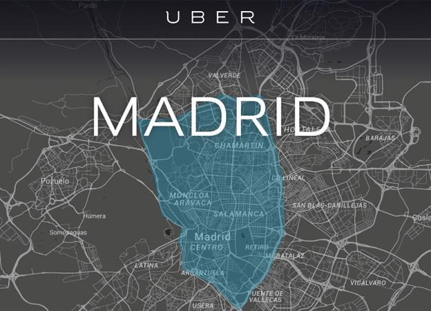 Uber llega a España