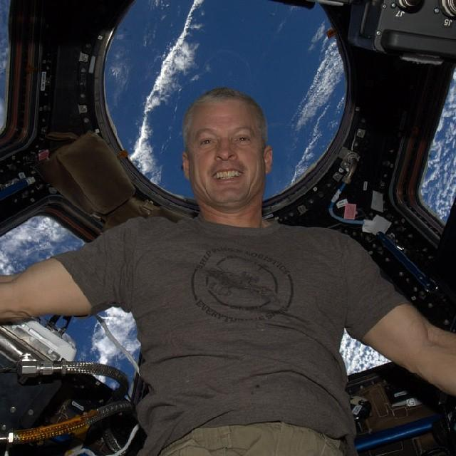 Selfie en el espacio