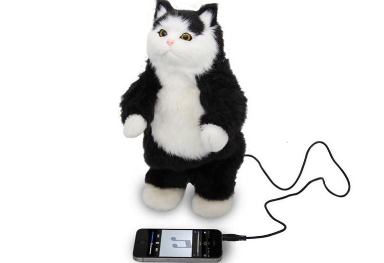 El gato altavoz, el horror de tus fiestas