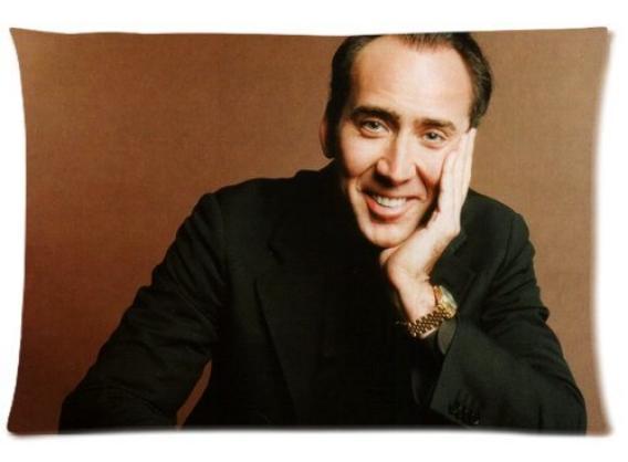 Regalo absurdo: cojín Nicolas Cage