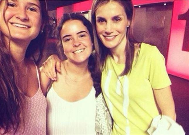 Letizia selfie celebrities famosa