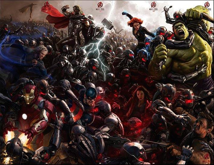 Los Vengadores 2: La era de Ultrón 2015