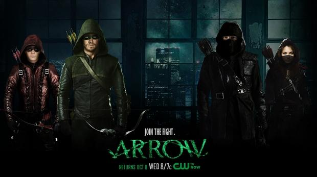 Arrow, el el Top 10 de los más pirateado de 2014
