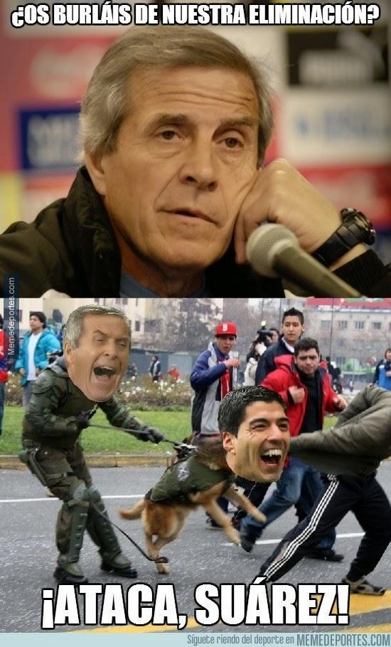 meme mordisco de Suarez Mundial 2014