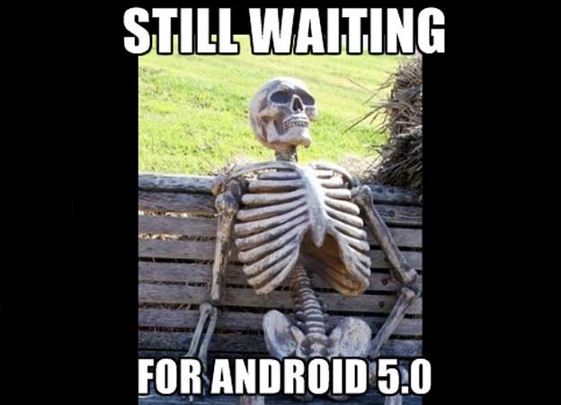 Android Lollipop meme
