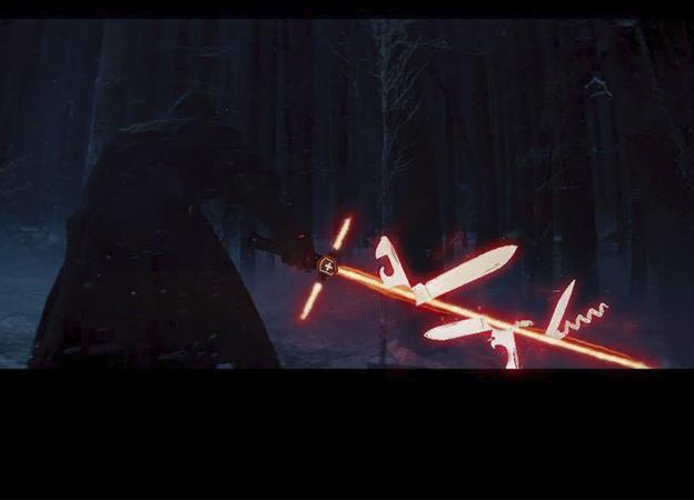 Star Wars 'The force awaken' meme
