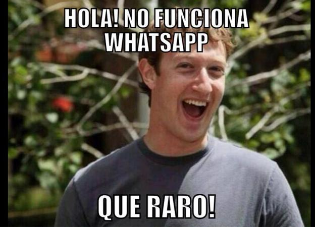 Facebook compra WhatsApp meme