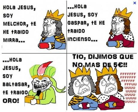 Meme Reyes Magos 2017