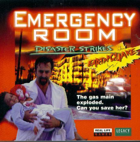 Emergency Room: Disaster Strikes para Nintendo, una de las peores portadas