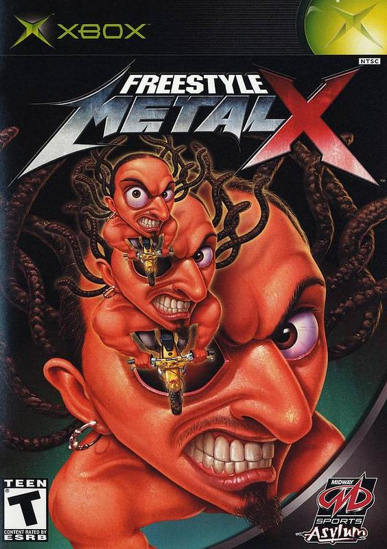 Freestyle Metal X (Xbox) una de las peores portadas