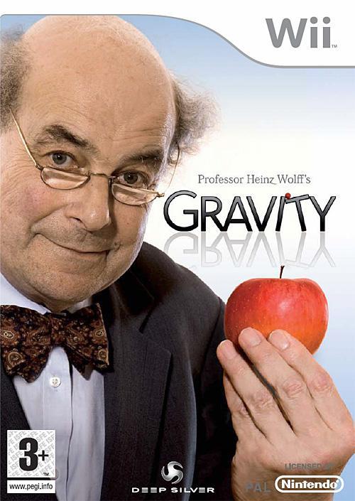 Gravity Wii. Una de las peores portadas
