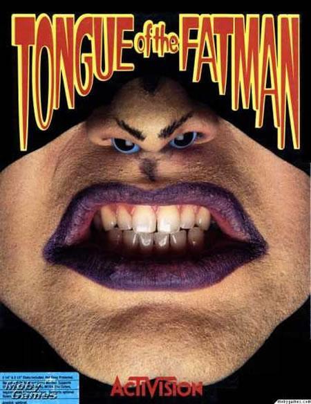 Tongue of Fatman una de las peores portadas de videojuegos