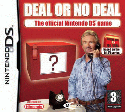 Deal or no Deal, Nintendo DS. Una de las peores portadas