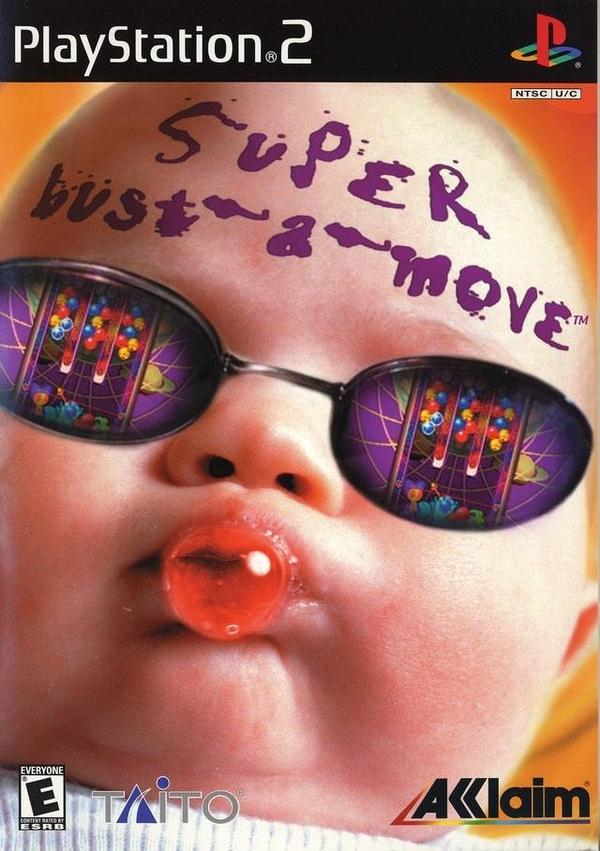 Super Bust-a-Move Play Station. Una de las peores portadas