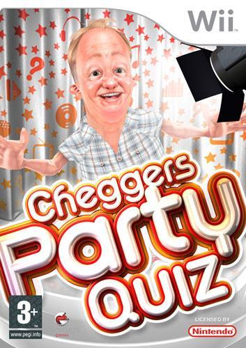 Cheggers Party Quiz. Wii. Una de las peores carátulas