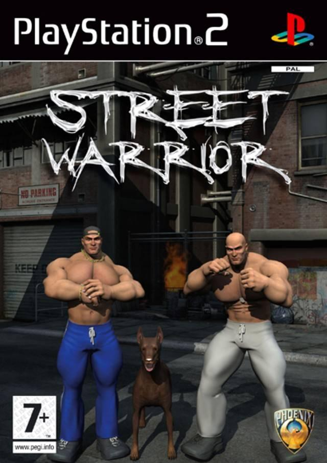 Street Warrior Play Station. Una de las peores portadas