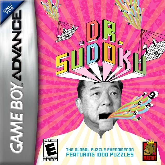 Dr. Sudoku. Game Boy Advance. Una de las peores portadas de videojuegos.