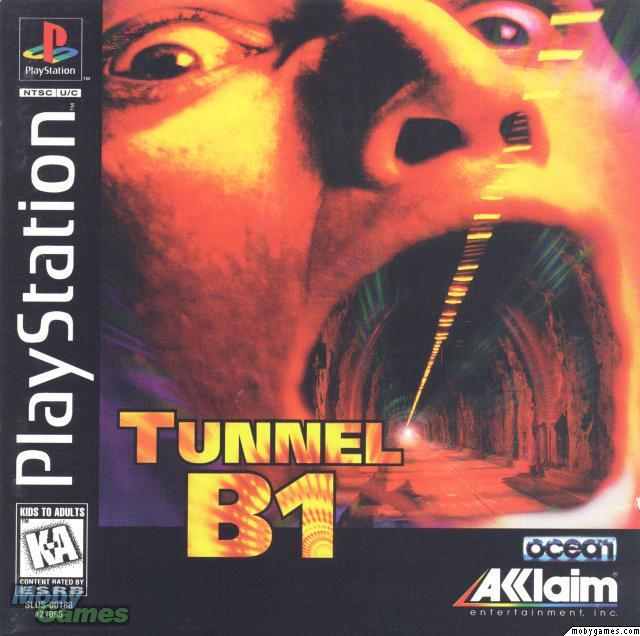 Tunnel B1. Play Station. Una de las peores portadas