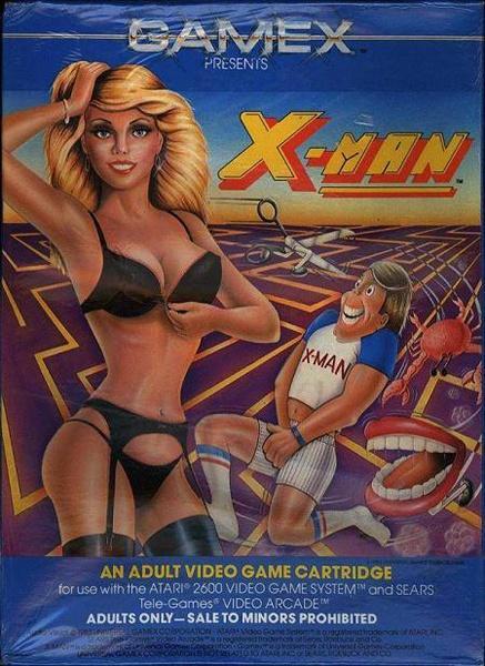 X-Man Atari 2600 una de las peores carátulas