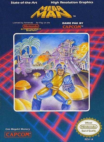 Mega Man Nintendo. Peor carátula