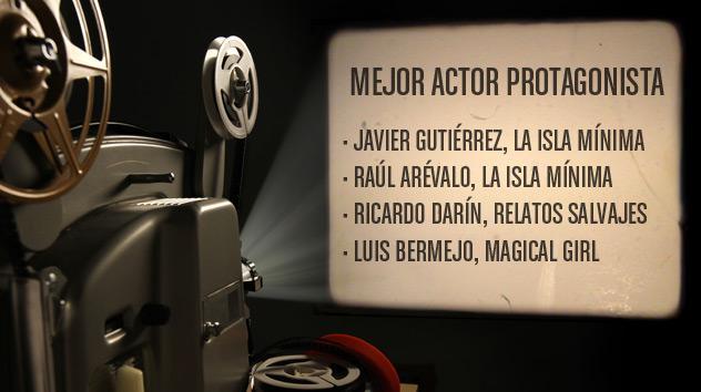 Nominados a los premios Goya 2015: Mejor actor protagonista