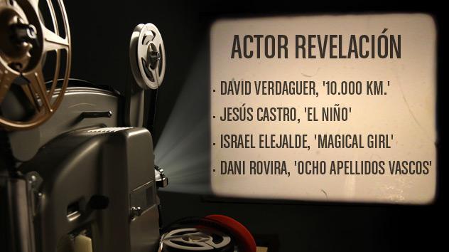 Nominados a los premios Goya 2015: Mejor actor revelación
