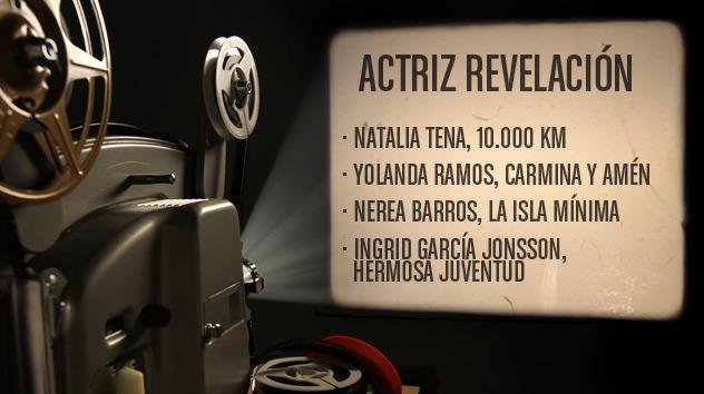 Nominados a los premios Goya 2015: Mejor actriz revelación