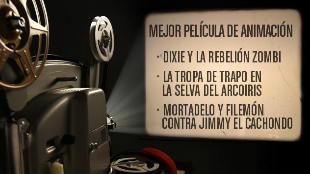Nominados a los premios Goya 2015: Mejor película de animación