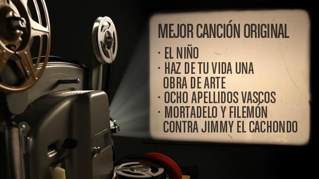 Nominados a los premios Goya 2015: Mejor música original