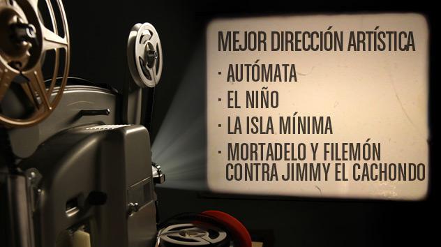 Nominados a los premios Goya 2015: Mejor dirección artística