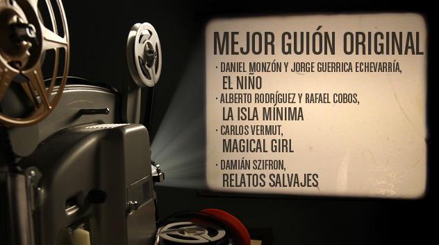 Nominados a los premios Goya 2015: Mejor guión original