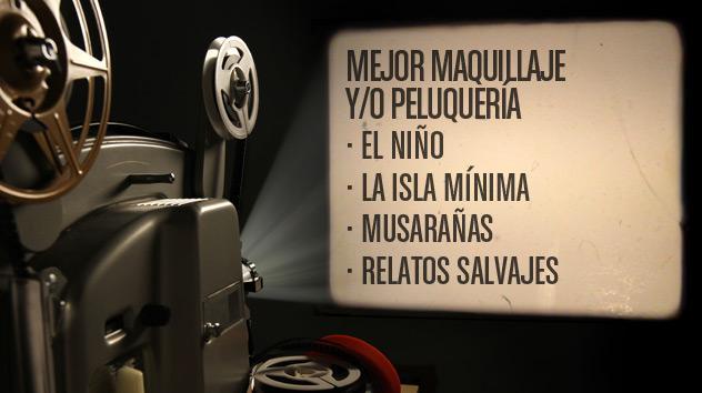 Nominados a los premios Goya 2015: Mejor maquillaje y peluquería