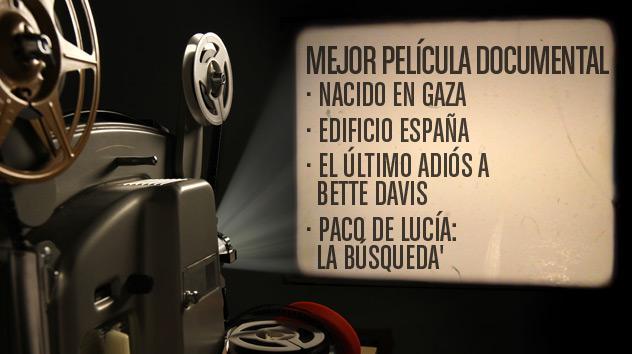 Nominados a los premios Goya 2015: Mejor película documental