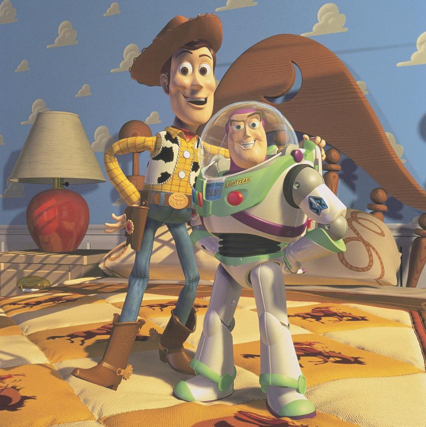 Toy story efectos cgi
