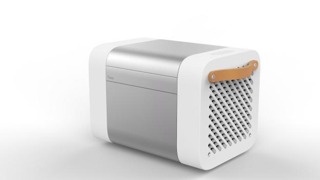 Kube en CES 2015. Es un refrigerador con altavoces Bluetooth y a prueba de agua / Vía Kube Sound