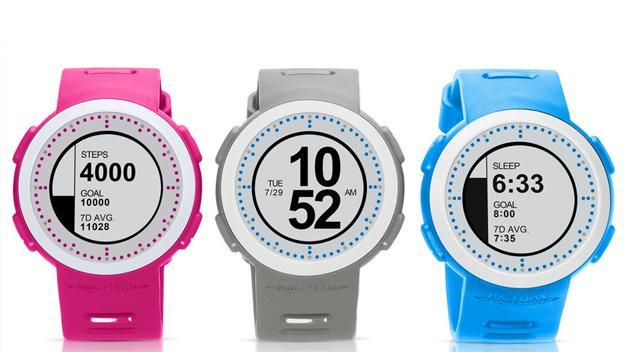 Magellan Echo Fit en CES 2015. Este es otro smartwatch de precio ajustado que monitoriza la actividad física y te ayuda a mantenerte en forma / Vía Connecdly.com. Los 18 gadgets y wearables más curiosos y extraños de CES 2015