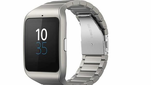 Sony Smartwatch 3 Acero en CES 2015. el nuevo smartwatch de la compañía japonesa hecho en acero inoxidable / Vía ABC.es
