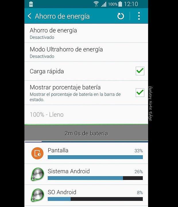 Samsung Galaxy Note Edge (Interfaz)