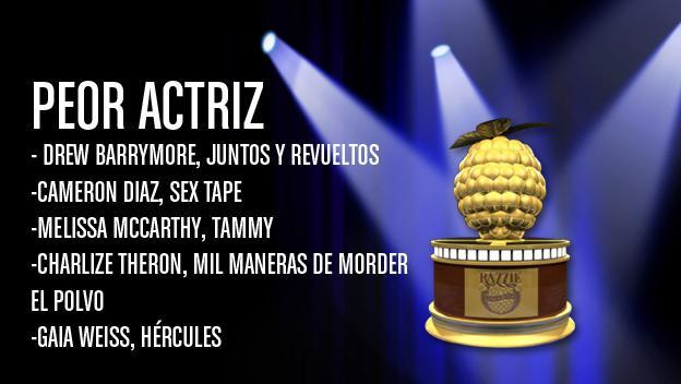 premios Razzie 2015
