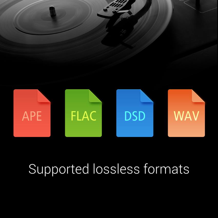 Xiaomi Mi Note soporta los principales formatos de audio sin pérdida.