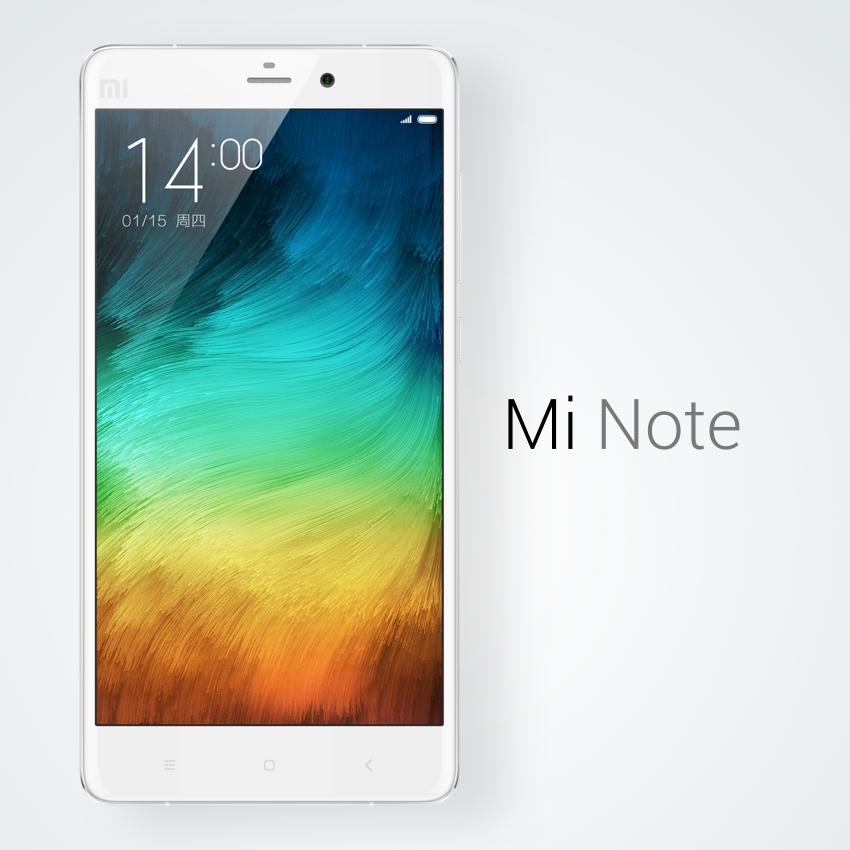 Xiaomi Mi Note tiene una pantalla Full HD de 5,7 pulgadas