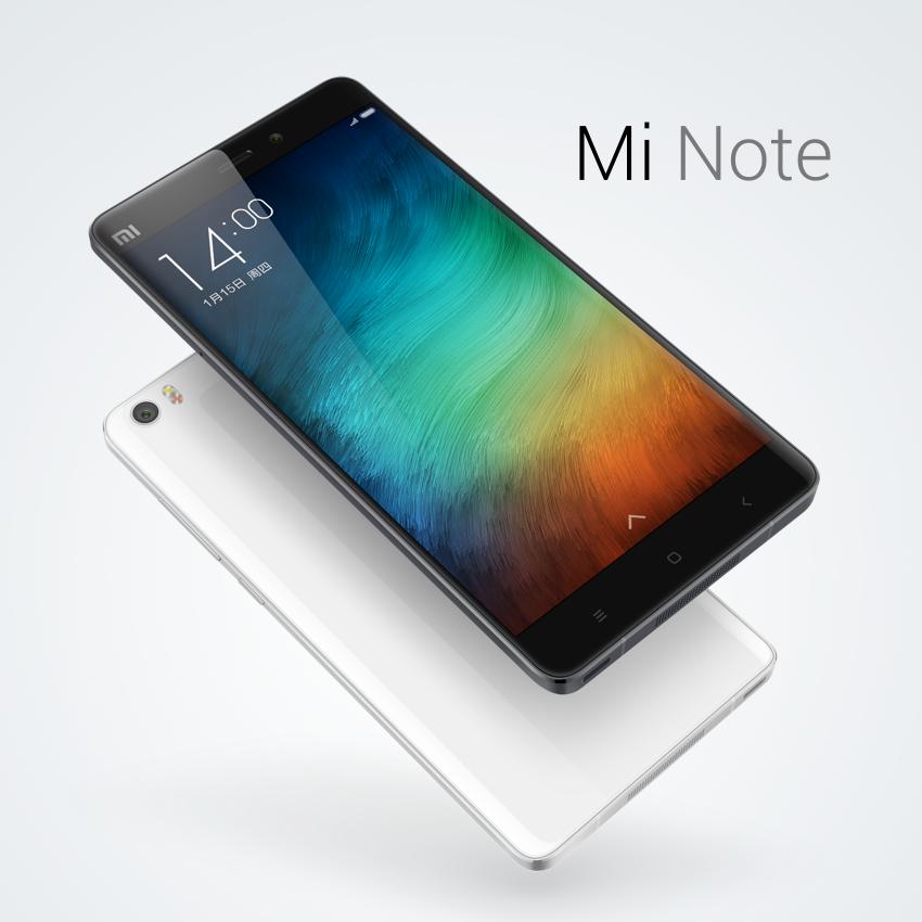 Xiaomi Mi Note color blanco