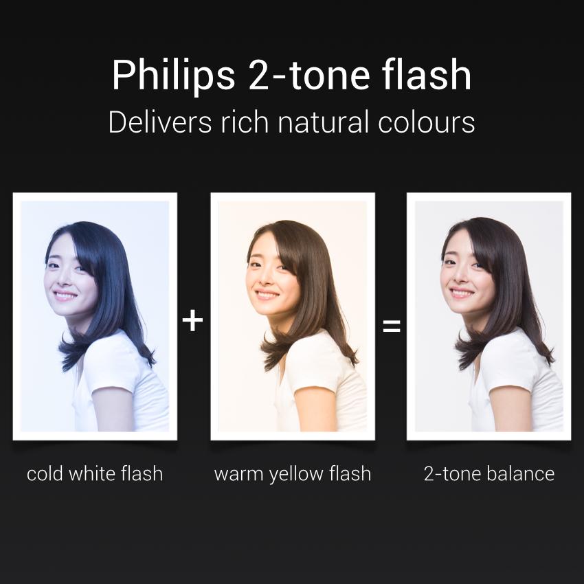 Xiaomi Mi Note dispone de flash LED Dual.
