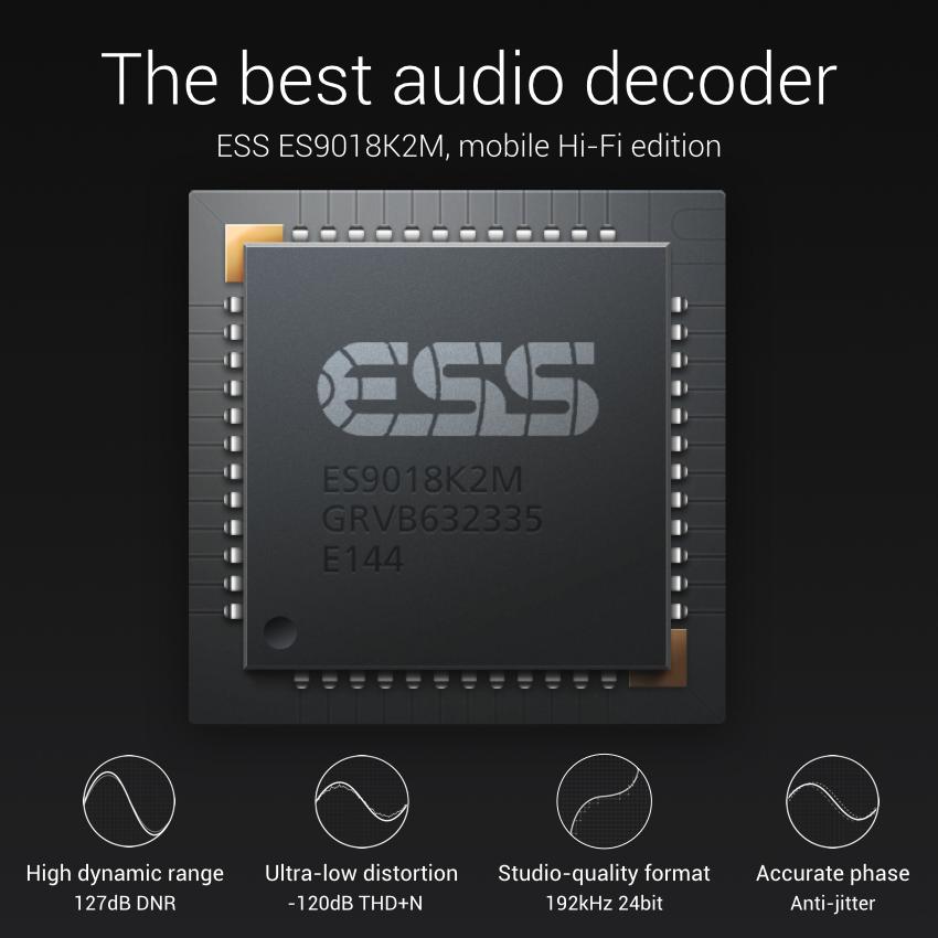 Procesador del sonido del Xiaomi Mi Note, el mejor del mercado según el fabricante chino.