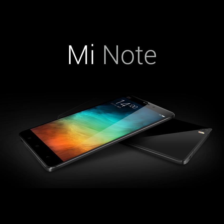 Xiaomi Mi Note color negro