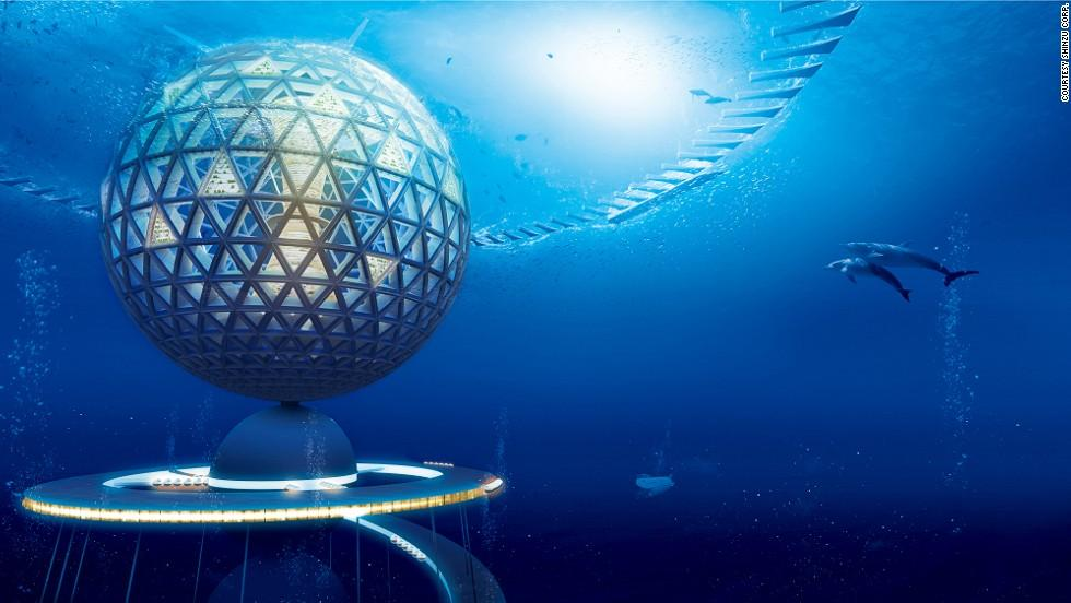 ciudad submarina japón