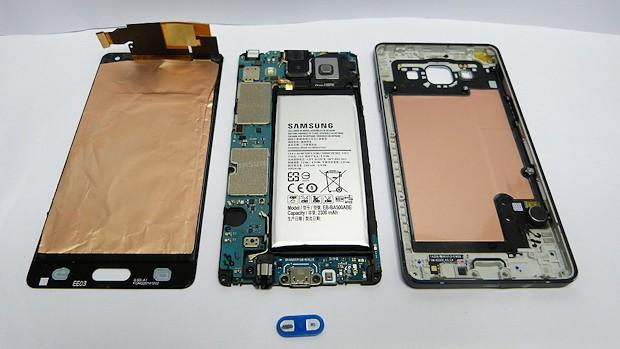 Samsung Galaxy A5 (Despiece)